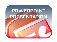 conference and exhibition powerpoint presentation display button image