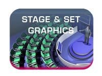 conference and exhibition stage and set graphics button image