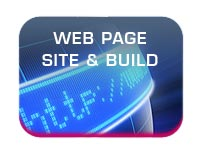 web site and web page design and build button image